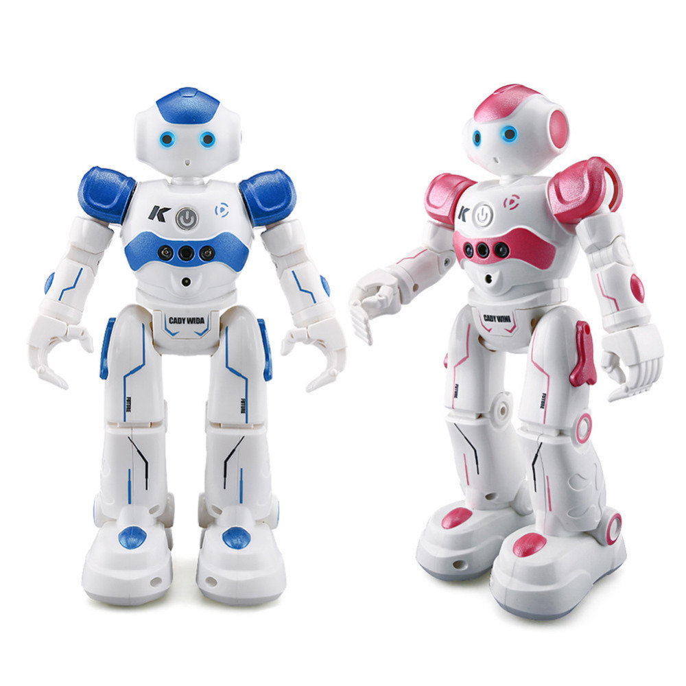 JJRC R2 Cady Control RC Robot Toys USB Charging Dancing Gesture Control RC Robot Toy for Children Kids Birthday Gift jjrc r1 dancing gesture control rc robot usb charging blue pink intelligent action figure robot toys for children birthday gift