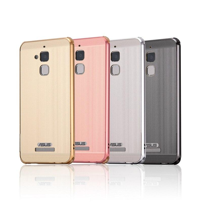 """Pro Asus Zenfone 3 Max ZC520TL 5,2 """"kryt kovového rámu s kartáčovaným zadním krytem, pevné pouzdro pro Asus Zenfone 3 Max ZC520TL 5,2"""""""