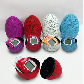 2019 New 1Pc Multi-colors Dinosaur egg Virtual Cyber Digital Pet Game Toy Tamagotchis Digital Electronic E-Pet Christmas Gift