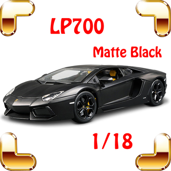 New Arrival Gift LP700 Matte 1/18 Model Car Collection Alloy Diecast Scale Table Top Metal Vehicle Sports Race Decoration Toy
