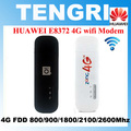 Abierto original de huawei e8372 e8372h-153 cat5 150 100mbps 4g lte módem usb dongle wifi móvil