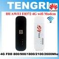 Original desbloqueado huawei e8372 e8372h-153 cat5 150 100mbps 4g lte usb modem móvel wi-fi dongle