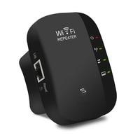 300Mbps Wireless Range Extender Repeater Portable WiFi Booster Internet Network Signal Enhancer