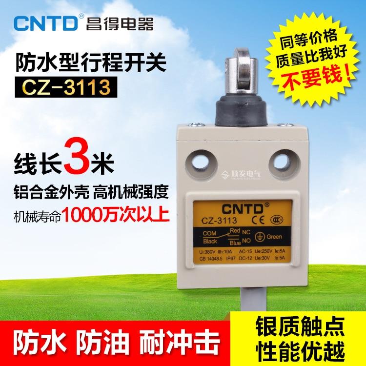 HWEXPRESS  TZ CZ-3113 Waterproof Defence Oil Stroke Switch Fretting Limit Switch   IP67 ip j00 cz