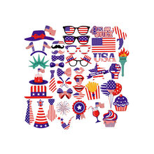 2019 hot new productsJuly 4th Americano Independence Day 25/40 Pezzi Casa Della Decorazione Del Partito Prop accessori Casa di famiglia(China)