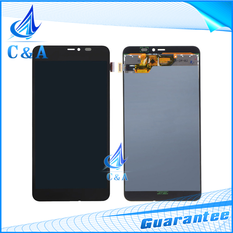 ФОТО 100% Tested LCD Display With Touch Digitizer Assembly For Microsoft Nokia Lumia 640xl 640 xl 5.7'' inch 1 Piece Free Shipping