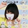 Moe & Cute Anime Kaomoji-kun Emotiction Mouth-muffle Cotton Anti-Dust Face Mask