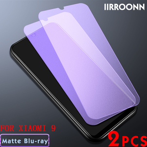 Image 2 - 2Pcs/lot Matte Tempered Glass For Xiaomi Mi 8 MI8 lite Mi9 mix3 Screen Protector for Xiaomi Mi 9 8lite mix 3 Protective Film