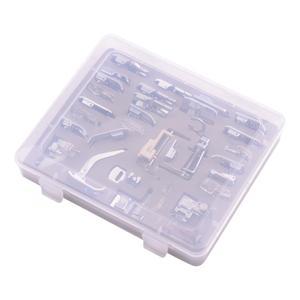 Image 2 - Набор прижимных прижимов для швейных машин, 62 шт., линейка под давлением для шитья, многофункциональные швейные аксессуары, прочный Набор для вязания
