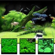 Водная трава 7 видов стилей аквариумные растения любовь пластиковая водная трава аквариумные растения Украшение Пейзаж орнамент