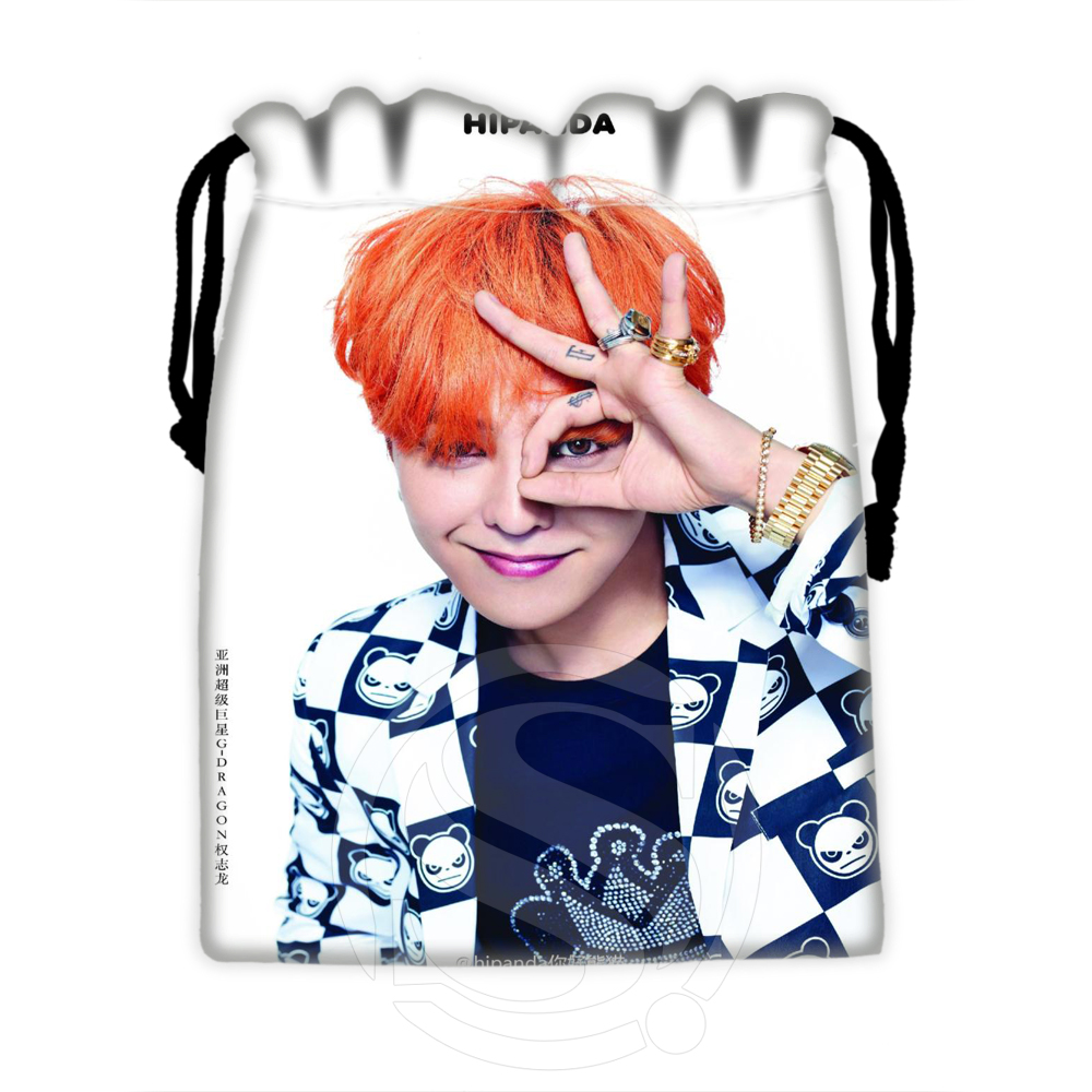 H-P664 Custom Bigbang#1 Drawstring Bags For Mobile Phone Tablet PC Packaging Gift Bags18X22cm SQ00806#H0664