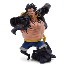 5.6 14cm One piece Gear fourth Monkey D Luffy Anime Collectible Action Figure PVC toys Christmas gift for Children Birthday