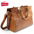 BVLRIGA Women bag ladies frosted Genuine leather bag vintage bags handbags women famous brands women messenger bags dollar price