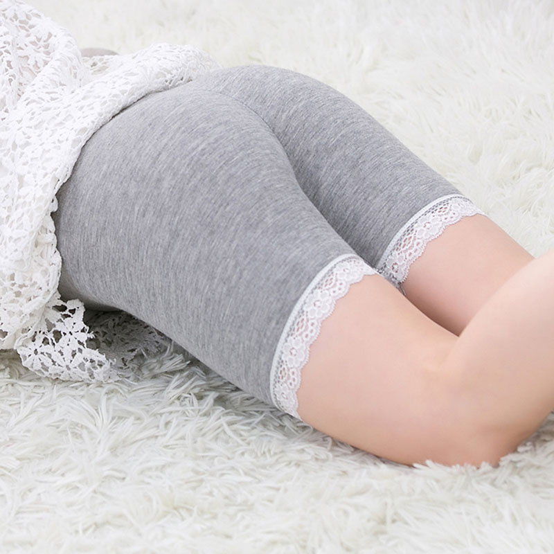 Candy Color Girls Safety Short Pants Underwear Lace Cotton Girl Shorts Leggings Trousers Girls boxer briefs Plus Size Leggins