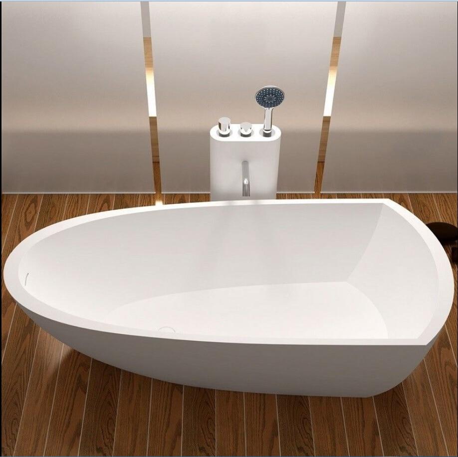 1800x800x500mm Solid Surface Stone CUPC Approval Bathtub Rectangular ...