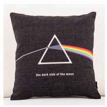 Pink Floyd Pop Music Band Emoji Throw Messager Decorative Vintage Lumbar Pillows Cover Pillow Case Home Decor Family Kids Gift