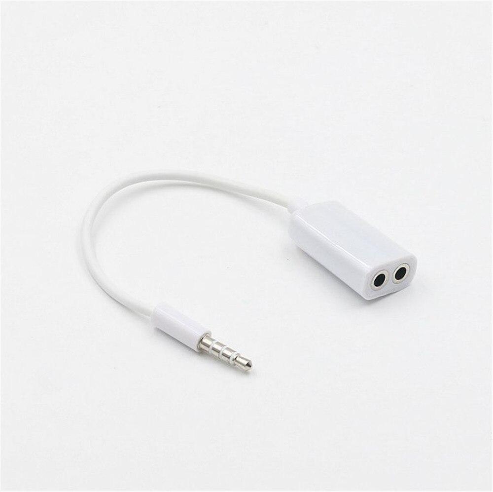 Pflichtbewusst 3,5mm Jack 1 In 2 Paare Linie Ohrhörer Headset Y Splitter Kabel Kopfhörer Kopfhörer Adapter Für Tablet Telefon Mp3 Mp4 Pc Notebook