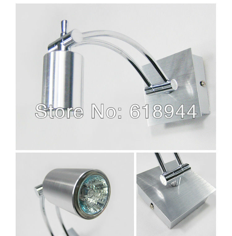 Fashion modern brief aluminum waterproof bathroom mirror light bathroom light background lights ...
