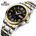 Часы HAIQIN  автоматические  механические  водонепроницаемые  повседневные  из нержавеющей стали