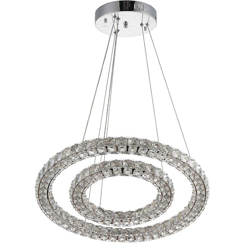 Vallkin rotonda led luce del pendente di cristallo lampada a sospensione lampade per bar caffetteria ac110-240v cristallo k9 lampade ce rohs fcc