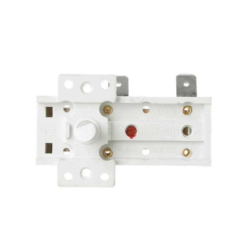 16A 250V elektrikli ısıtıcı sıcaklık kontrol cihazı parçaları termostat lamba kontrol anahtarı ev aletleri aksesuarları