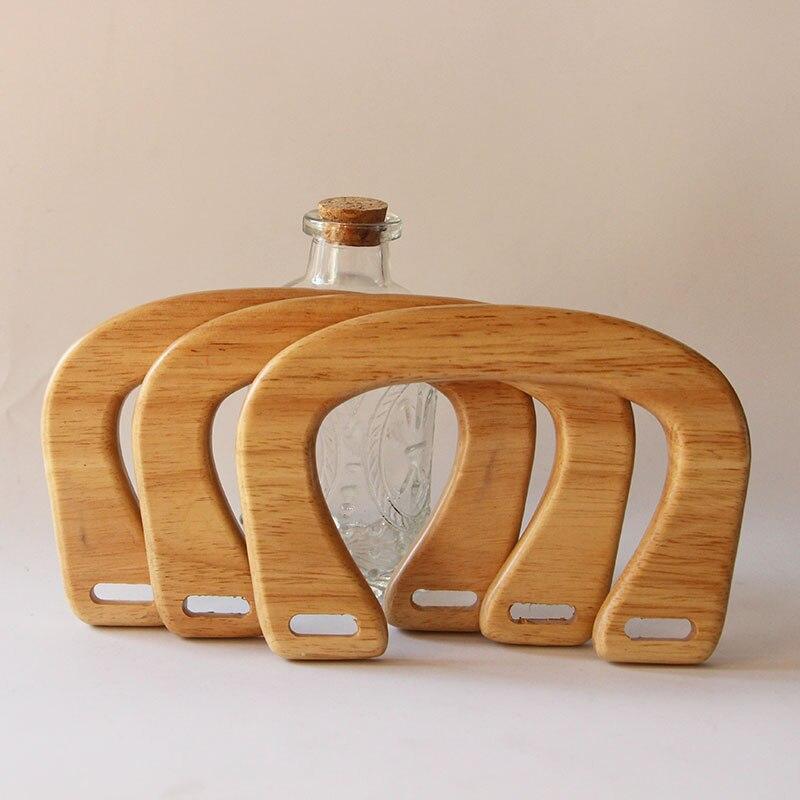 Aliexpress.com : Buy 16X11cm Nature Color Wooden Bag Parts ... |Wood Purse Hanger