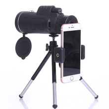 Cheaper Magnification Powerful 40*60 Monocular Telescope HD Night Vision With Tripod&Compass&Mobile Phone Holder For Outdoor Hunting
