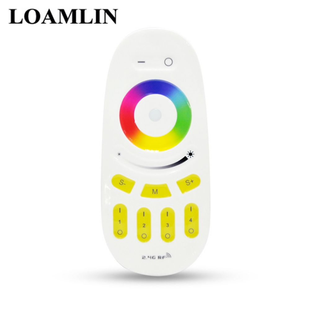 Milight <font><b>FUT096</b></font> 2.4G RGB RGBW Controller LED 4 Zone RF Remote Control Mi light Touch Wireless RF Remote Controller image