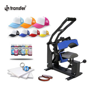 i-transfer Package Sale European Style Digital Sublimation Hats Caps Heat Press Machine Heat Transfer Printer
