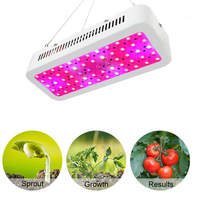 600W LED Grow Light Double Chip Plant Hydroponic Lighting Flower Hydroponic System Full Spectrum led Indoor Garden Greenhouse