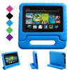 Eagwell Kids Children Safe Rugged Proof Foam Case Handle Stand For All New Amazon Fire 7
