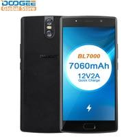 2018 DOOGEE BL7000 7060 мАч Android 7,0 12V2A Quick Charge 5,5 ''FHD MTK6750T Octa Core 4 ГБ Оперативная память 64 ГБ Встроенная память мобильного телефона двойной 13.0MP