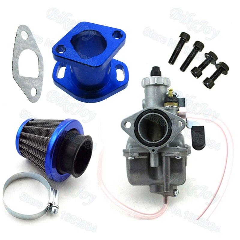_ Набор впускного воздушного фильтра карбюратора для Honda GX200 Chinese 196cc, клоны двигателя Predator 212cc, картинг, мини-велосипед
