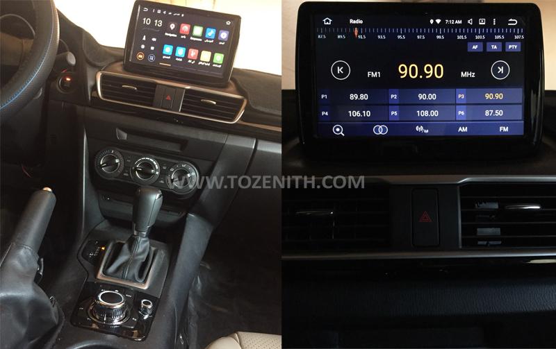 หุ้นจำนวนมาก Mazda3 Axela GPS 9