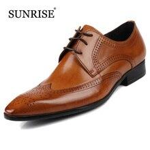 Мужчины Бизнес Натуральная Кожа Квартиры Высокого Качества Острым Носом Акцентом Обувь Мужская Мода Платье Обувь формальная обувь