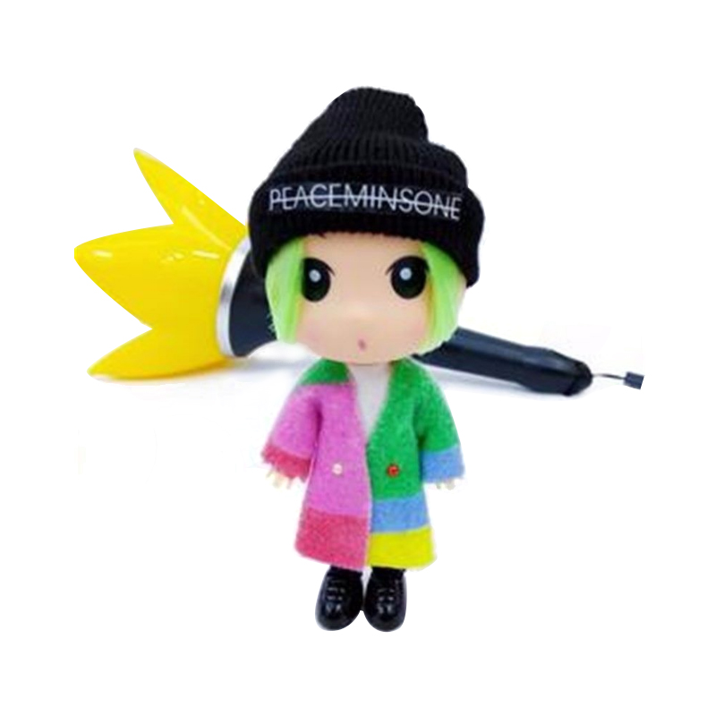 KPOP BIGBANG G-dragon FXXK IT Doll GD 13cm/5 Figure Handmade Model Toy Collection