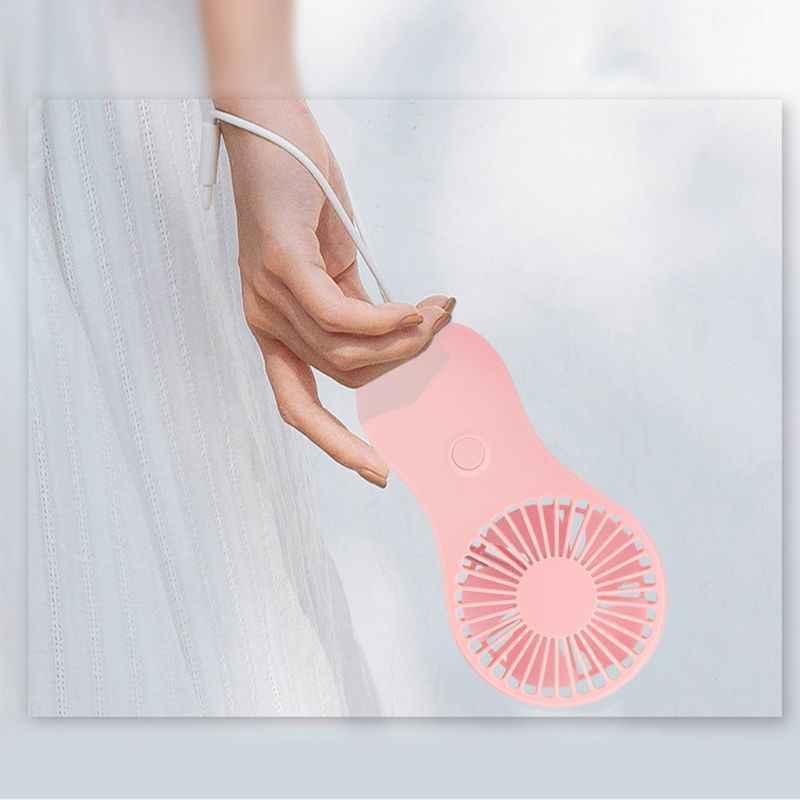 Mini ventilador de bolsillo portátil fresco de mano de aire de viaje enfriador de refrigeración Mini ventiladores de potencia por 3x AAA Batteryl29k