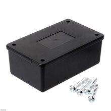 Водонепроницаемый ABS пластик электронный корпус проект коробка чехол черный 105x64x40 мм Damom