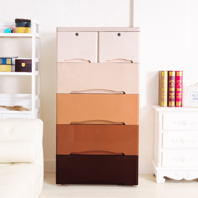 Childrens Wardrobe Pumping Plastic Ikea Cabinets Drawers Drawer Lockers Baby Plastic Storage Cabinet