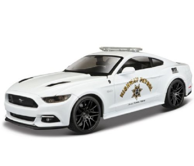Maisto <font><b>1:24</b></font> 2015 <font><b>Ford</b></font> <font><b>Mustang</b></font> GT 5.0 Diecast Model Racing Car Vehicle Toy NEW IN BOX image
