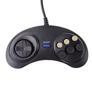 Image 5 - 新 6 デジタルボタン有線コントローラパッドセガメガドライブメガゲームパッドジョイスティックセガジェネシスmd