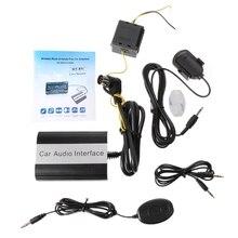 무료 배송 핸즈프리 차량용 블루투스 키트 Volvo HU 시리즈 C70 S40/60/80 V40 V70 XC70 용 MP3 AUX 어댑터 인터페이스
