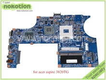NOKOTION JM31-CP MB 09921-3M 48.4HL01.03M MBPV101001 For acer aspire 3820TG laptop motherboard HM55 ATI HD5650M MB.PV101.001