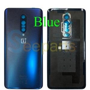 Image 3 - Originele Case Voor Oneplus 7 Pro Batterij Cover Terug Achterklep Behuizing Vervangende Onderdelen Voor Oneplus 7 Pro Terug behuizing