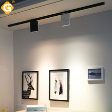 Modern LED Track Lights 12W Rail Light Spotlight 2 Wire 3 Wire 4 Wire For Home Shoes Store Clothing Showrooms Lighting