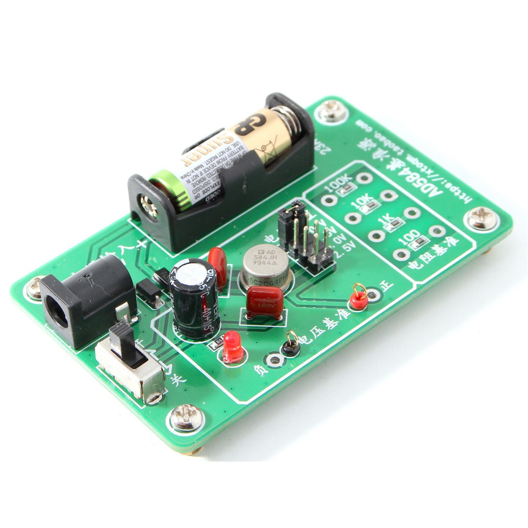 New AD584JH 4-Channel Multimeter Reference Module 2.5v/7.5v/5v/10v High Precision Voltage Reference Module