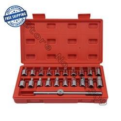 3/8 Dr M16 масла дренажный Plug торцевой гаечный ключ удаления набор инструментов 21 шт./18 шт./12 шт