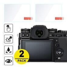 2x 강화 유리 화면 보호기 Fujifilm X T3 X H1 X T2 X T1 X T100 X T20 X T30 XF10 X E3 X70 X Pro2 X Pro1 X100T X100F