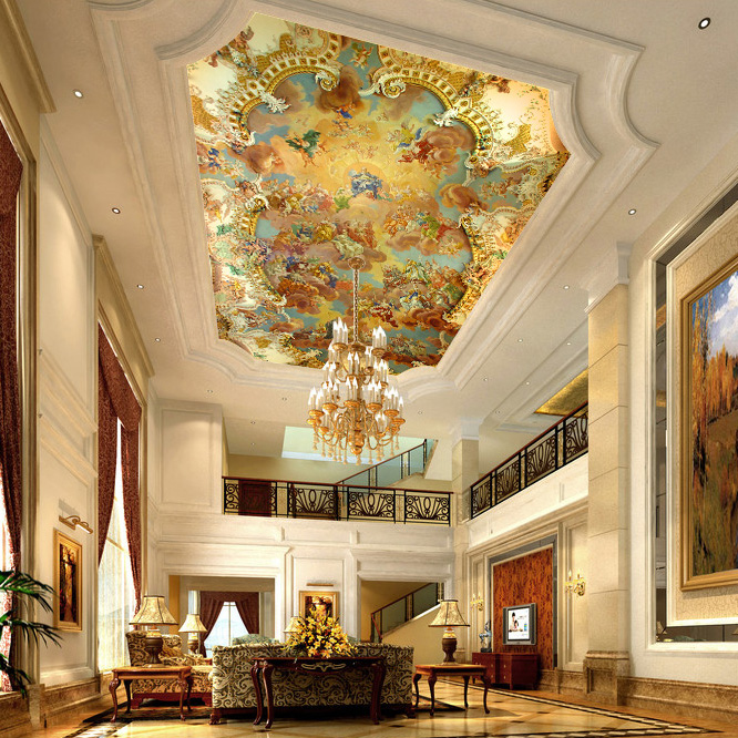 2014 wallpapers large ceiling mural wallpaper ceiling of villa2014 wallpapers large ceiling mural wallpaper ceiling of villa building wall paper european palace hotel wallpaper modern