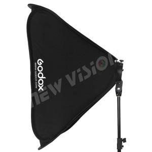 Image 5 - Godox قابل للتعديل 80 سنتيمتر * 80 سنتيمتر 31 x 31in Speedlight فلاش سوفت بوكس + S نوع قوس بونز مجموعة تثبيت للتصوير استوديو Speedlite